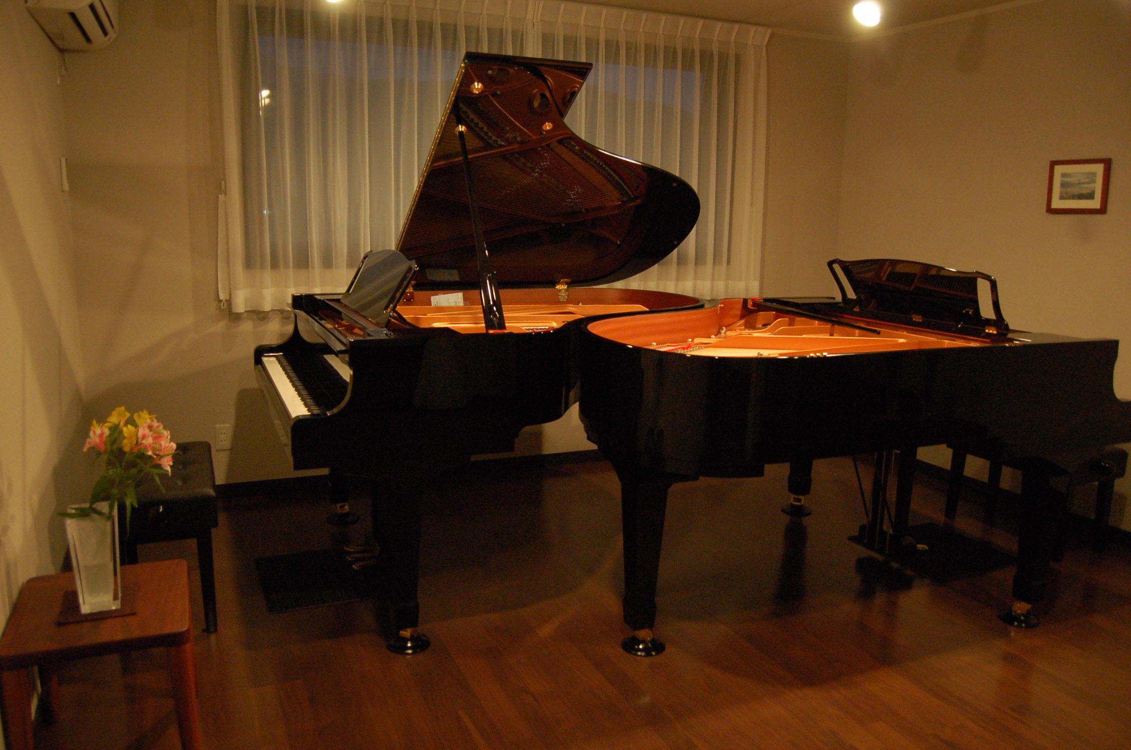 ピアノが弾ける宿泊施設